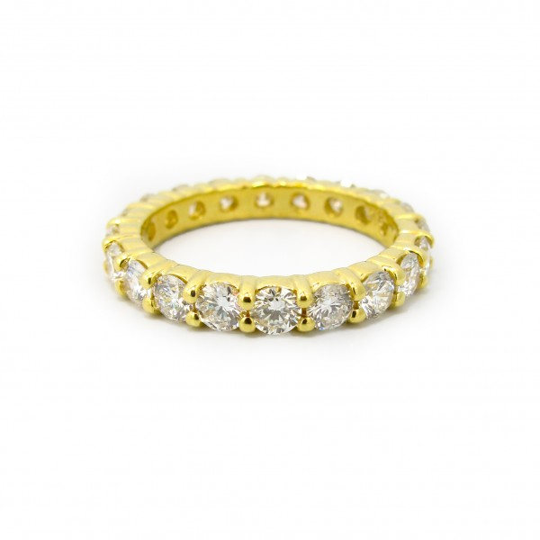 Diamond 18k 2ct Wedding Band