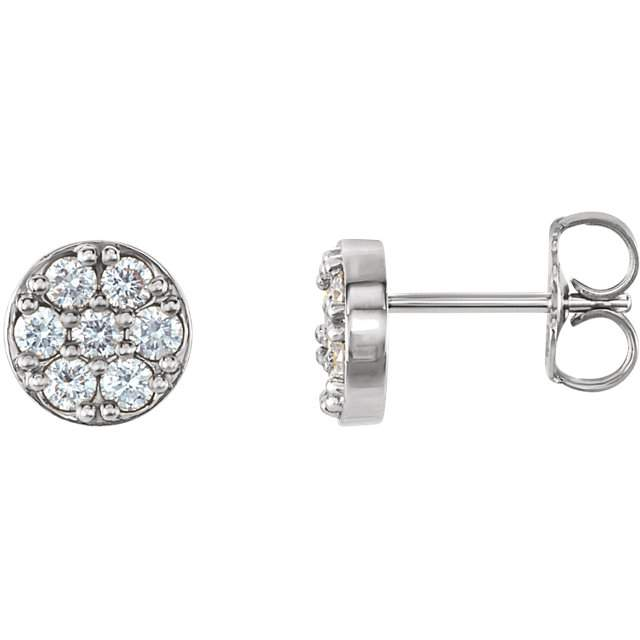 fc597b9c5d0 Pave Diamond Stud Earrings