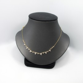 Diamond Fashion 18k Yellow Necklace