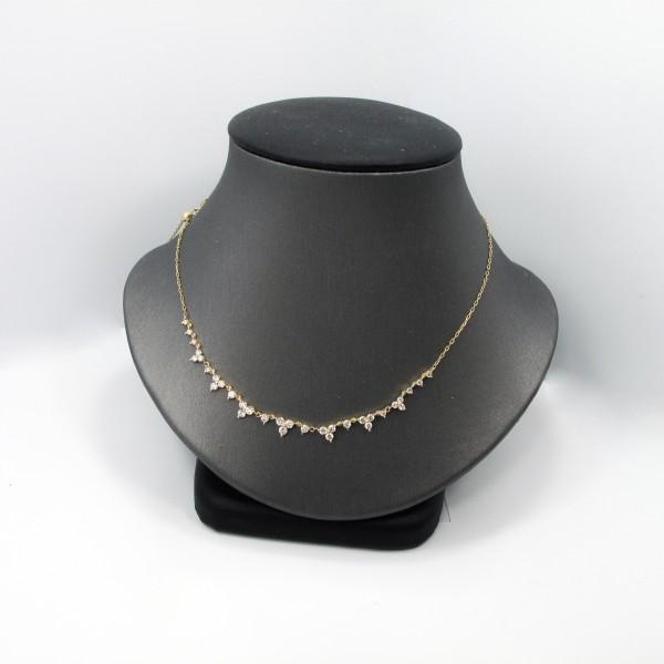 Diamond Fashion 18k Yellow Necklace