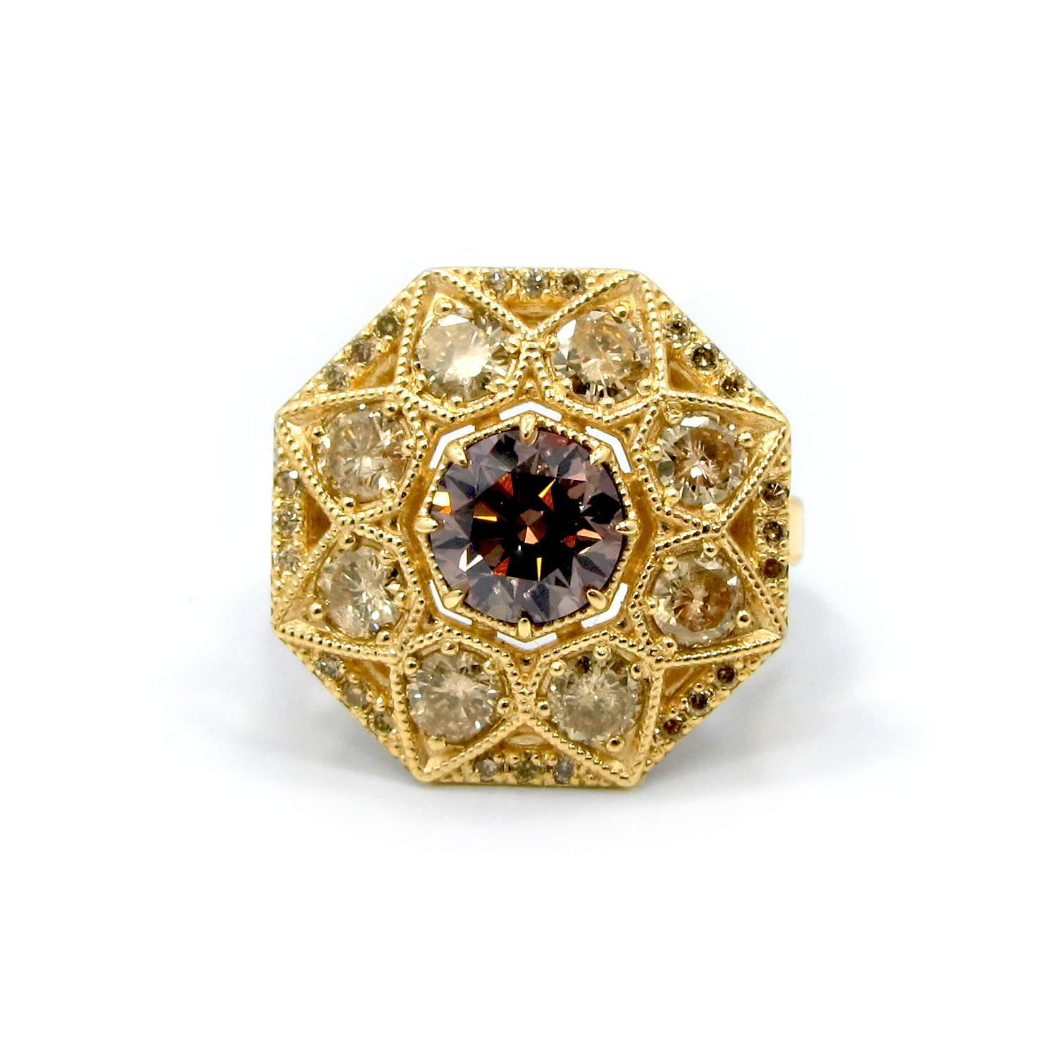 orro henrich rings lily home ring champagne jewellery denzel red diamonds gold diamond engagement
