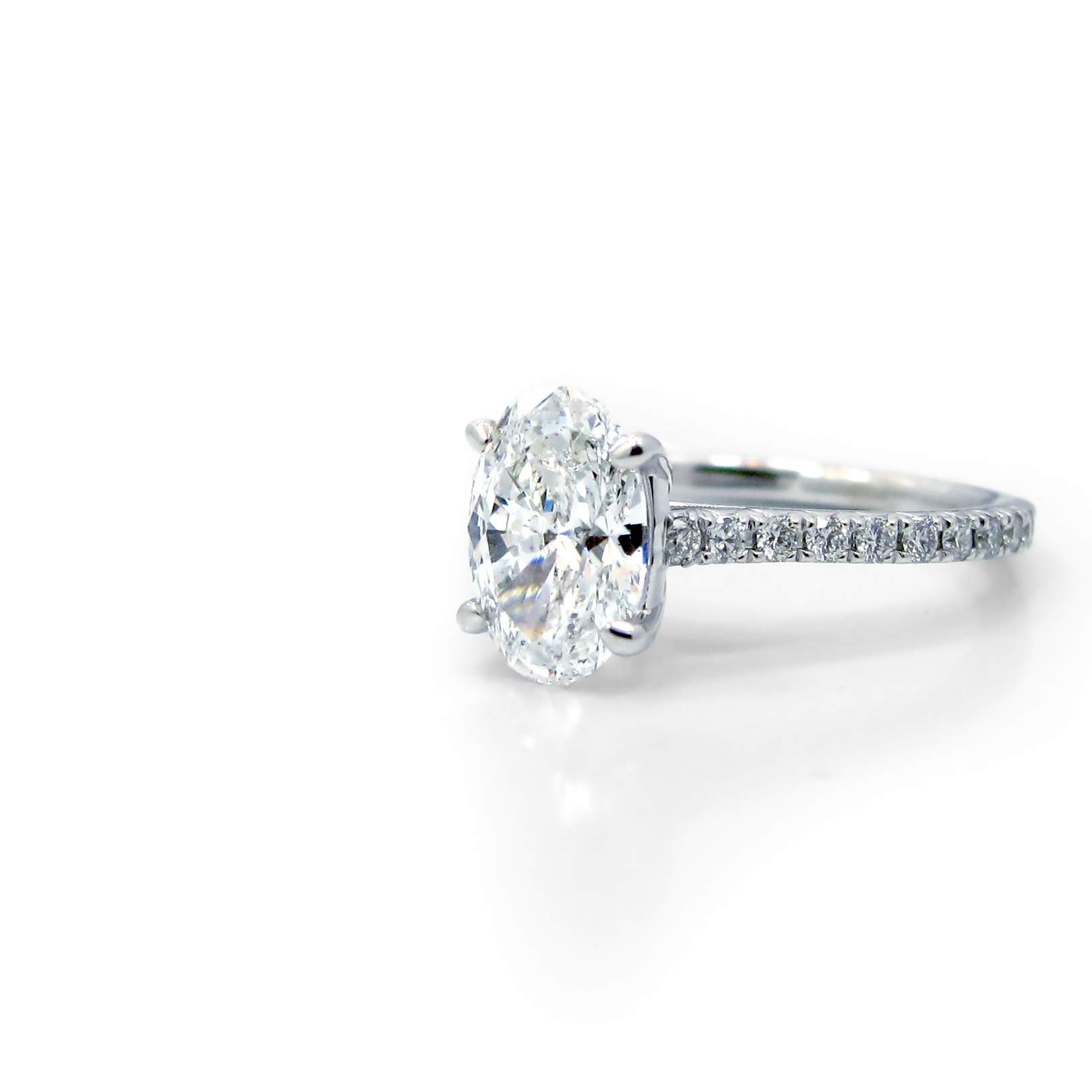 ring beloved open gallery engagement rings band diamond