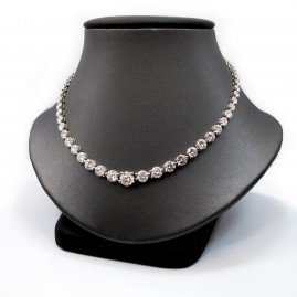 This is a picture of Diamond Riviera Necklace