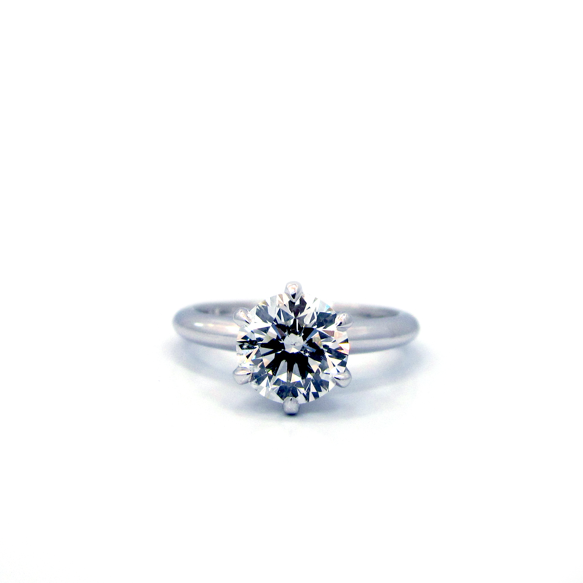 solitaire platinum classic de ring engagement db beers